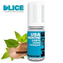 E-liquide D'LICE tabac USA-Menthe