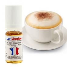Lorliquide Café Cappuccino arôme gourmand
