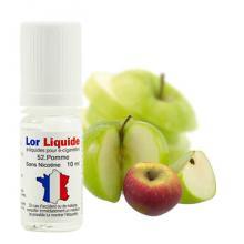 e-liquide Lorliquide Pomme arôme fruité