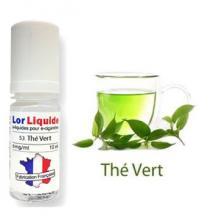 recharge ecigarette Lorliquide Thé vert