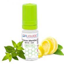 e-liquide Lorliquide citron-menthe