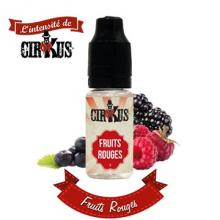 e-liquide Cirkus authentic Fruits rouges : framboise, mûre et cassis