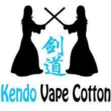Kendo Vape coton organique pour modeurs